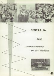 Page 9, 1958 Edition, Central High School - Centralia Yearbook (Bay City, MI) online yearbook collection