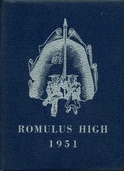1951 Edition, Romulus High School - Eagle Yearbook (Romulus, MI)