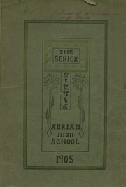 Adrian High School - Sickle Yearbook (Adrian, MI) online yearbook collection, 1905 Edition, Page 1
