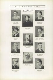 Page 10, 1922 Edition, Adrian High School - Sickle Yearbook (Adrian, MI) online yearbook collection