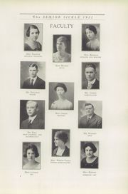 Page 11, 1922 Edition, Adrian High School - Sickle Yearbook (Adrian, MI) online yearbook collection