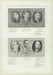 Page 14, 1927 Edition, Adrian High School - Sickle Yearbook (Adrian, MI) online yearbook collection