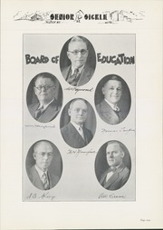 Page 13, 1932 Edition, Adrian High School - Sickle Yearbook (Adrian, MI) online yearbook collection