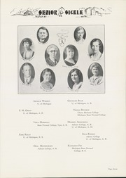 Page 15, 1932 Edition, Adrian High School - Sickle Yearbook (Adrian, MI) online yearbook collection