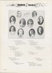 Page 16, 1932 Edition, Adrian High School - Sickle Yearbook (Adrian, MI) online yearbook collection