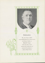 Page 9, 1932 Edition, Adrian High School - Sickle Yearbook (Adrian, MI) online yearbook collection