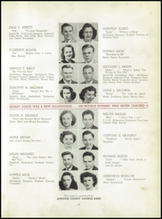 Page 17, 1944 Edition, Adrian High School - Sickle Yearbook (Adrian, MI) online yearbook collection