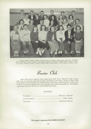 Page 42, 1950 Edition, Adrian High School - Sickle Yearbook (Adrian, MI) online yearbook collection