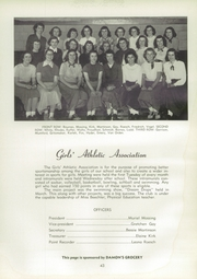 Page 47, 1950 Edition, Adrian High School - Sickle Yearbook (Adrian, MI) online yearbook collection