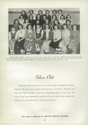 Page 52, 1950 Edition, Adrian High School - Sickle Yearbook (Adrian, MI) online yearbook collection