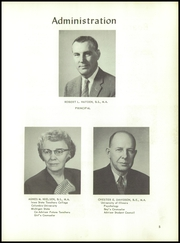 Page 9, 1959 Edition, Adrian High School - Sickle Yearbook (Adrian, MI) online yearbook collection