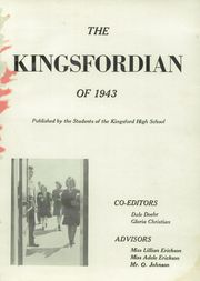Page 5, 1943 Edition, Kingsford High School - Kingsfordian Yearbook (Kingsford, MI) online yearbook collection