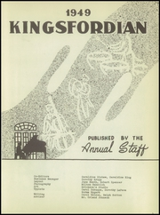 Page 5, 1949 Edition, Kingsford High School - Kingsfordian Yearbook (Kingsford, MI) online yearbook collection