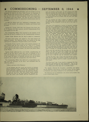 Page 11, 1946 Edition, Shannon (DM 25) - Naval Cruise Book online yearbook collection