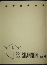 Page 6, 1946 Edition, Shannon (DM 25) - Naval Cruise Book online yearbook collection