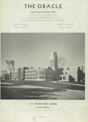 Page 7, 1944 Edition, Sexton High School - Oracle Yearbook (Lansing, MI) online yearbook collection