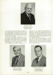 Page 12, 1956 Edition, Sexton High School - Oracle Yearbook (Lansing, MI) online yearbook collection