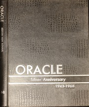 1968 Edition, Sexton High School - Oracle Yearbook (Lansing, MI)