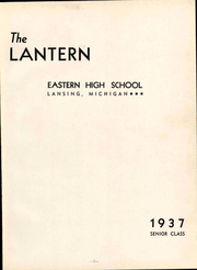 Page 9, 1937 Edition, Eastern High School - Lantern Yearbook (Lansing, MI) online yearbook collection
