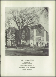 Page 5, 1946 Edition, Eastern High School - Lantern Yearbook (Lansing, MI) online yearbook collection