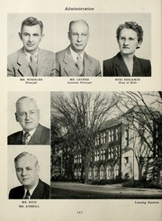 Page 10, 1951 Edition, Eastern High School - Lantern Yearbook (Lansing, MI) online yearbook collection