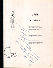 Page 5, 1968 Edition, Eastern High School - Lantern Yearbook (Lansing, MI) online yearbook collection