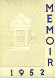 1952 Edition, Grand Rapids Christian High School - Memoir Yearbook (Grand Rapids, MI)