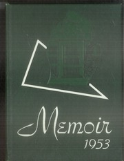 1953 Edition, Grand Rapids Christian High School - Memoir Yearbook (Grand Rapids, MI)