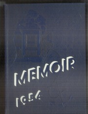 1954 Edition, Grand Rapids Christian High School - Memoir Yearbook (Grand Rapids, MI)