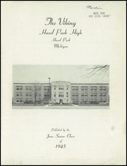 Page 3, 1945 Edition, Hazel Park High School - Viking Yearbook (Hazel Park, MI) online yearbook collection