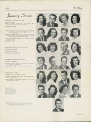 Page 11, 1948 Edition, Hazel Park High School - Viking Yearbook (Hazel Park, MI) online yearbook collection
