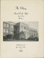 Page 3, 1948 Edition, Hazel Park High School - Viking Yearbook (Hazel Park, MI) online yearbook collection