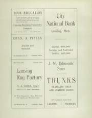 Page 10, 1904 Edition, East Lansing High School - Ceniad Yearbook (East Lansing, MI) online yearbook collection