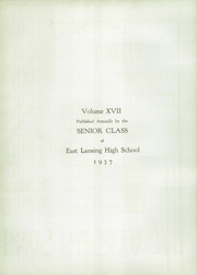 Page 6, 1937 Edition, East Lansing High School - Ceniad Yearbook (East Lansing, MI) online yearbook collection