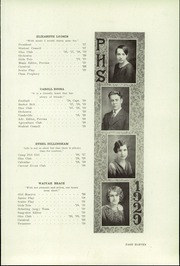 Page 13, 1929 Edition, Perry High School - Rambler Yearbook (Perry, MI) online yearbook collection