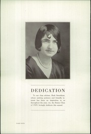 Page 6, 1929 Edition, Perry High School - Rambler Yearbook (Perry, MI) online yearbook collection