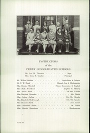 Page 8, 1929 Edition, Perry High School - Rambler Yearbook (Perry, MI) online yearbook collection