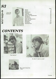 Page 3, 1983 Edition, Perry High School - Rambler Yearbook (Perry, MI) online yearbook collection