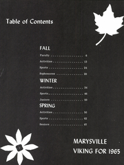 Page 7, 1965 Edition, Marysville High School - Viking Yearbook (Marysville, MI) online yearbook collection