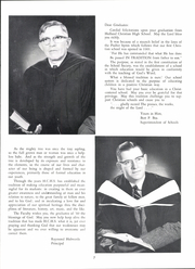 Page 11, 1960 Edition, Holland Christian High School - Footprints Yearbook (Holland, MI) online yearbook collection