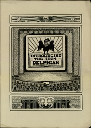 Page 3, 1924 Edition, Central High School - Delphian Yearbook (Kalamazoo, MI) online yearbook collection