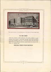 Page 9, 1924 Edition, Central High School - Delphian Yearbook (Kalamazoo, MI) online yearbook collection