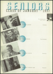 Page 12, 1937 Edition, Central High School - Delphian Yearbook (Kalamazoo, MI) online yearbook collection
