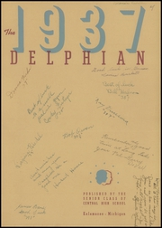 Page 3, 1937 Edition, Central High School - Delphian Yearbook (Kalamazoo, MI) online yearbook collection