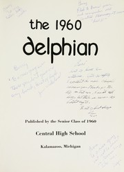 Page 5, 1960 Edition, Central High School - Delphian Yearbook (Kalamazoo, MI) online yearbook collection