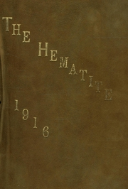 Page 1, 1916 Edition, Ishpeming High School - Hematite Yearbook (Ishpeming, MI) online yearbook collection