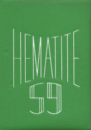 Page 1, 1959 Edition, Ishpeming High School - Hematite Yearbook (Ishpeming, MI) online yearbook collection