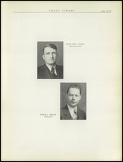Page 11, 1938 Edition, Hillsdale High School - Hornet Yearbook (Hillsdale, MI) online yearbook collection
