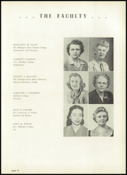 Page 13, 1949 Edition, Hillsdale High School - Hornet Yearbook (Hillsdale, MI) online yearbook collection