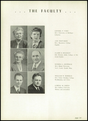 Page 14, 1949 Edition, Hillsdale High School - Hornet Yearbook (Hillsdale, MI) online yearbook collection